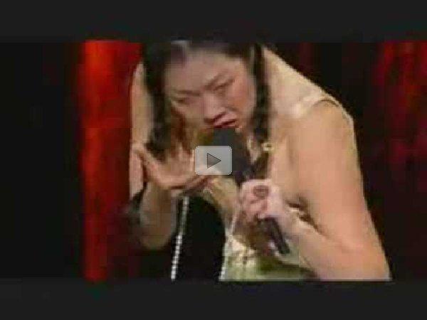 Margaret Cho asian chicken salad
